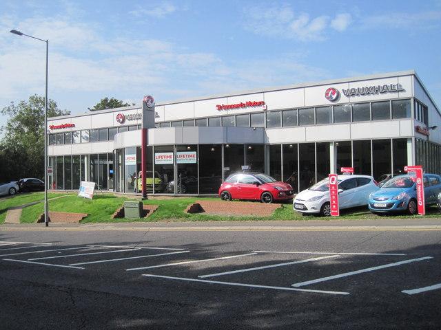 Vauxhall Dealership, St Leonards