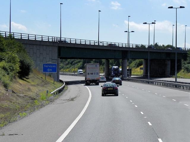 M6 Toll Road Southbound, Stonebridge Road Bridge