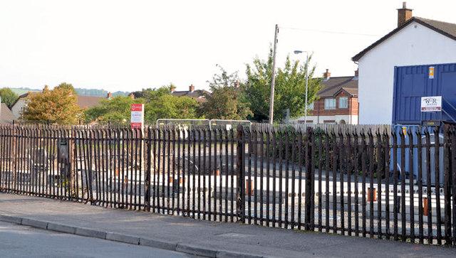 """""""Palmerston"""" housing site, Belfast (4 in 2013)"""