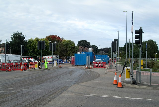 Road closure at Wilford Lane