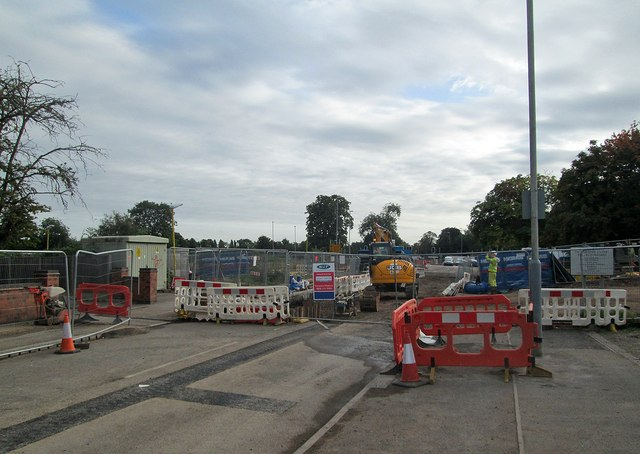 Wilford Lane closed for tramway works