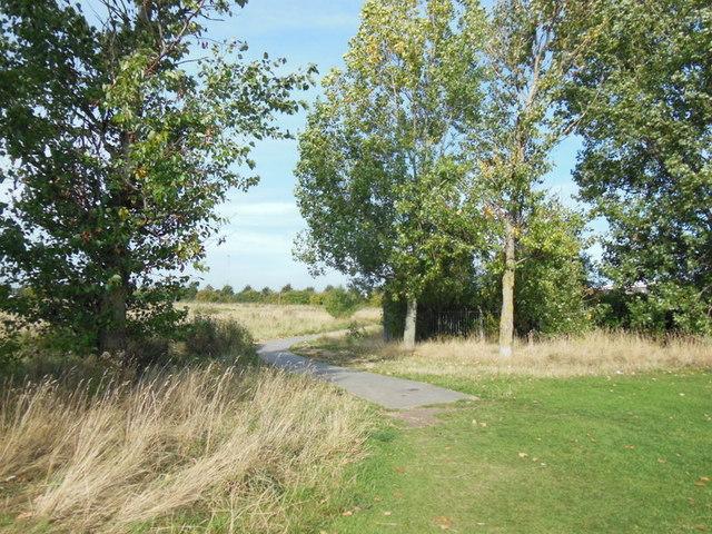 A path leading to John Newton Way, Hull