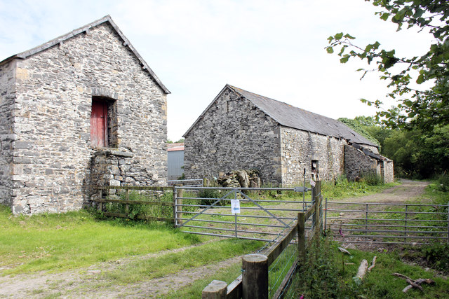 Barns at Great Abbey Farm, Abbey Road, Pontrhydfendigaid
