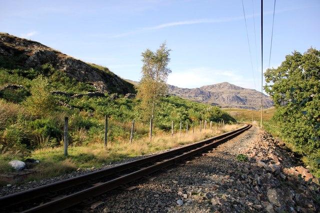 The Ffestiniog Railway at Gelli-wenog