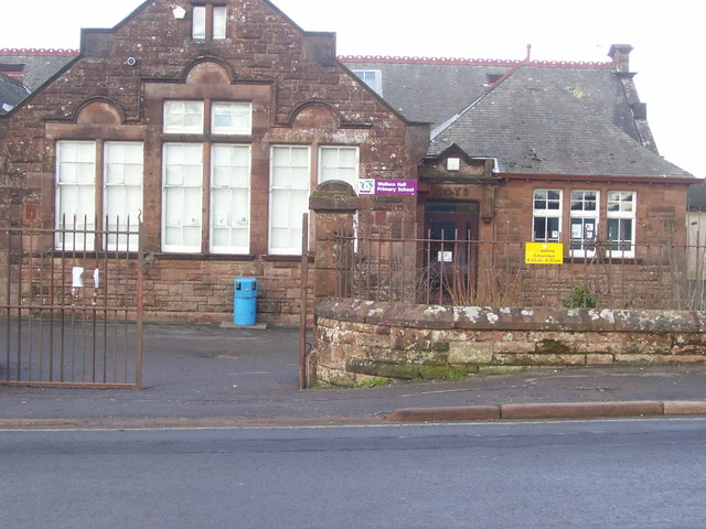 Old Morton Academy building , Thornhill