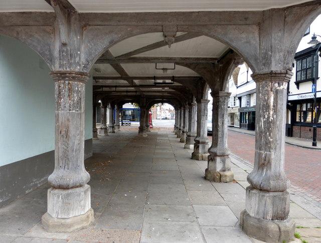 Under the Guildhall, Faversham