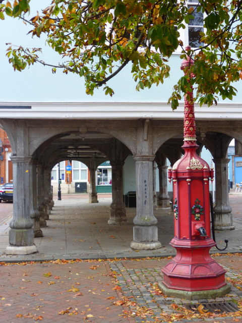 Town Pump by the Guildhall, Faversham
