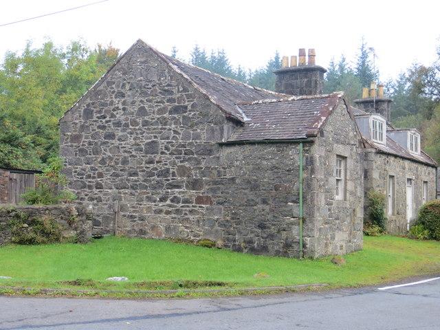 Cottage at Bargrennan road junction