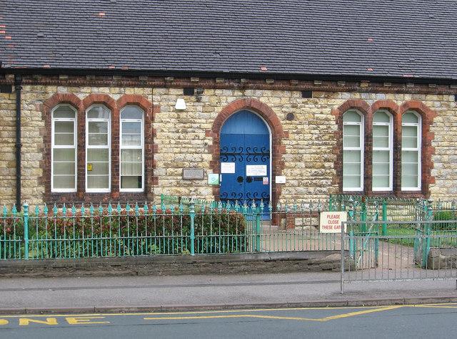Scunthorpe - Frodingham School (detail)