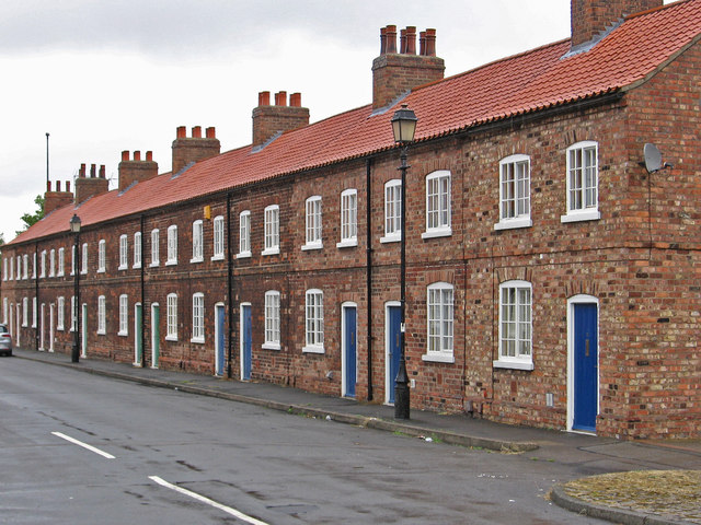 Scunthorpe - terrace on William Street