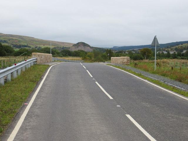 New road bridge (B741) over Muck Water