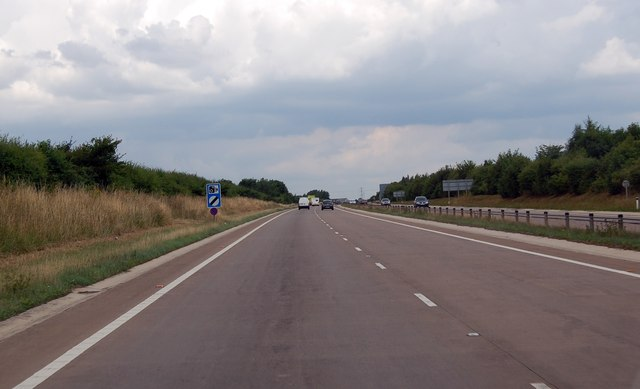 A417 north of Cirencester