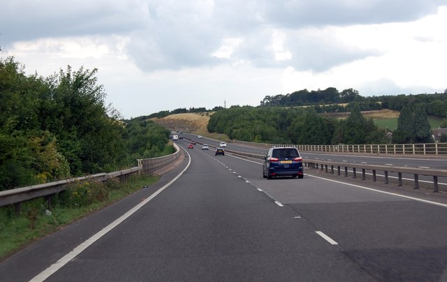 A417 viaduct over the River Churn