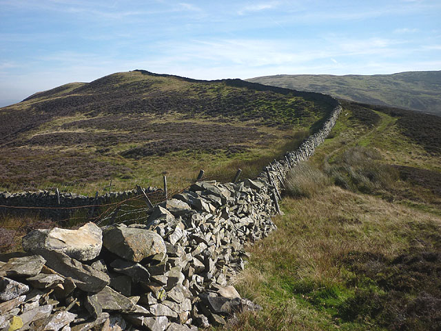 Walls and track on Long End