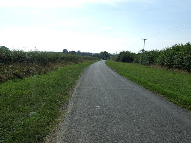 Green Lane towards Hemingby