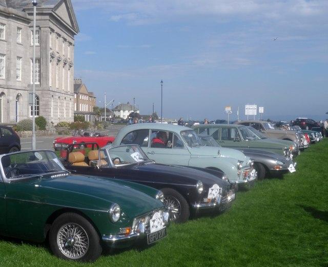 Rali hen geir / Vintage car rally