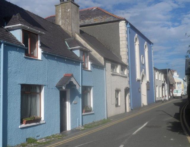 Adeiladau gleision / Buildings in blue