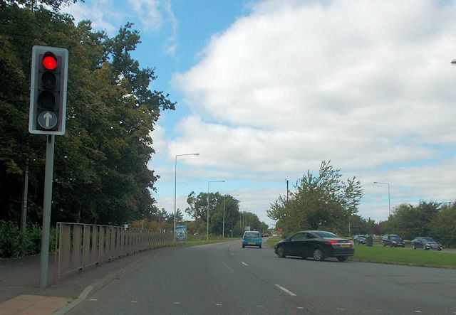 Exit junction from IKEA onto Bletcham Way
