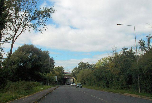 Railway bridge over Watling Street