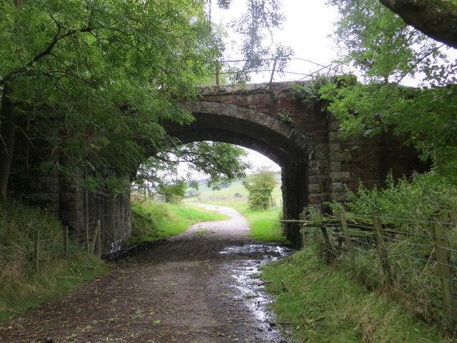 Disused road and rail bridge