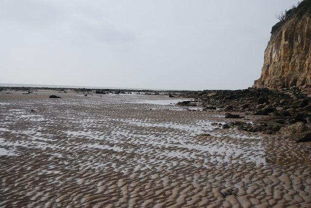 Low tide, Fairlight Head