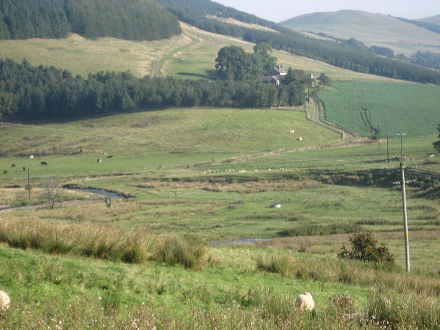 The valley of the Culter Water