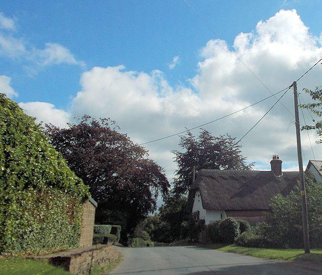 South end of Mursley village