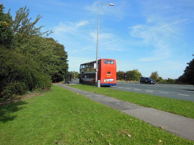 Beverley Road enters East Yorkshire