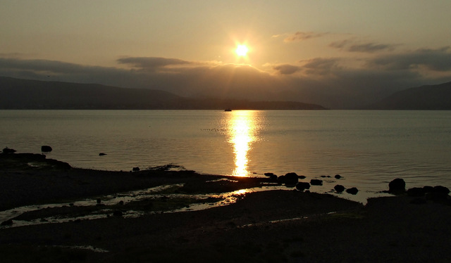 Sunset over Kirn