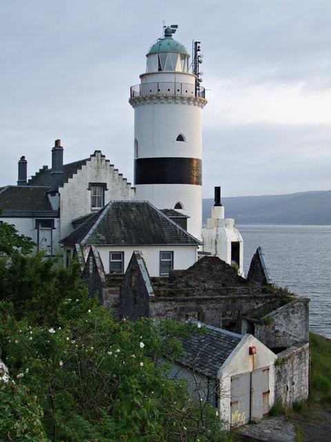 Dusk at Cloch Lighthouse