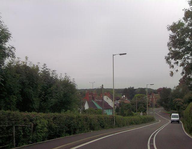 A488 through Hanwood