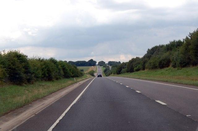 A417 along Ermin Way