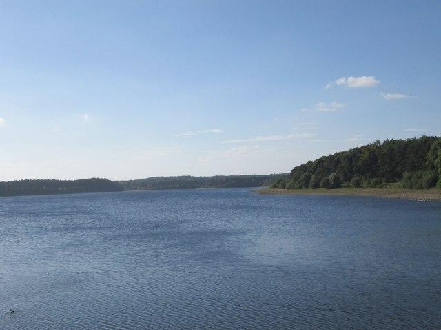 Eccup Reservoir - viewed from Dam