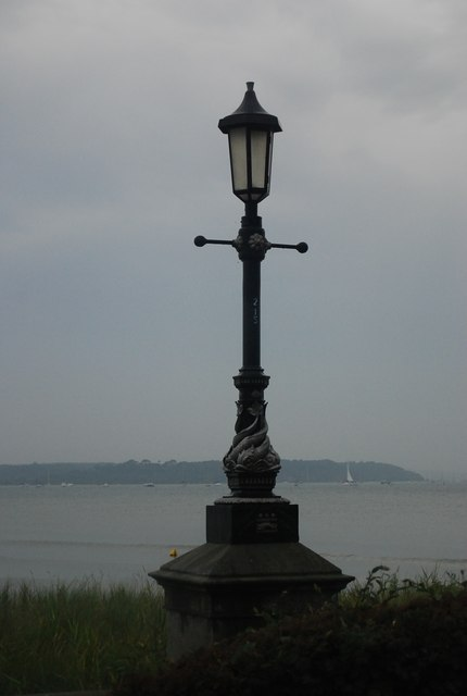 Ornate lamp standard
