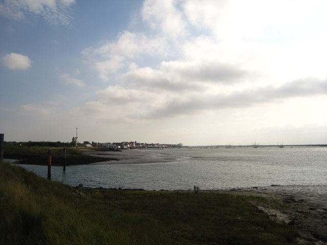 Looking towards Burnham
