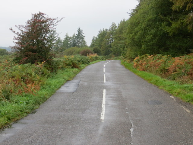 B793 Looking north-west