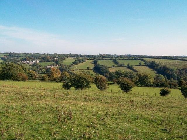 View across Henmore Brook