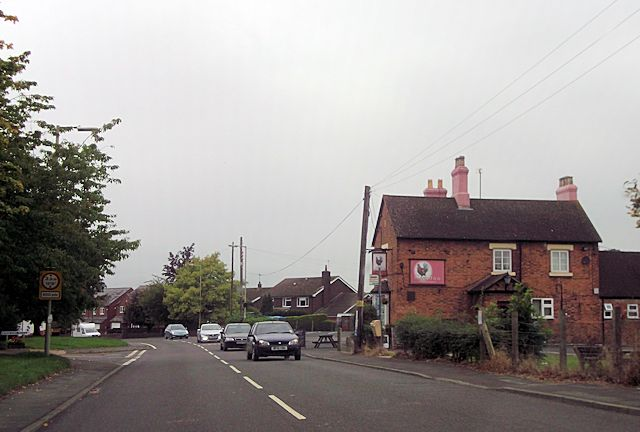 The Cock Inn at Hanwood