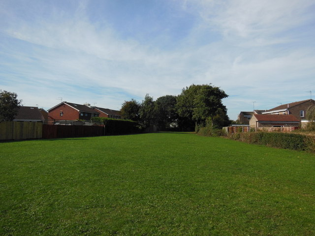 A small play area off Downfield Avenue, Hull