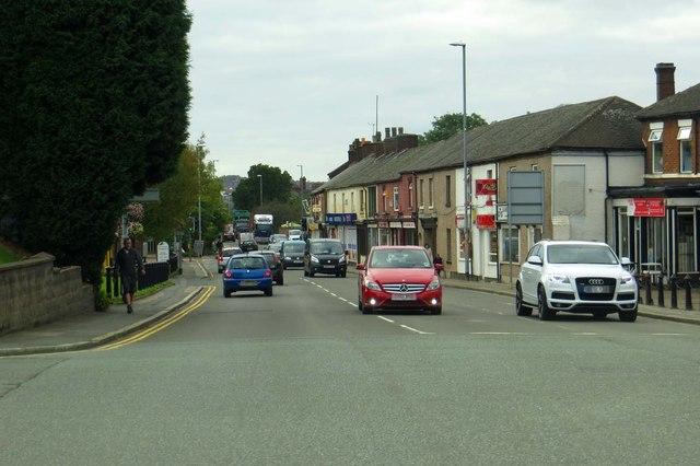 City Road in Fenton