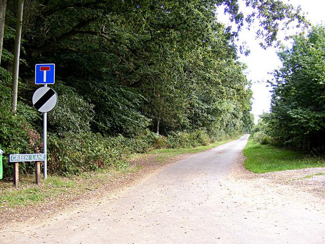 Green Lane, Horsford