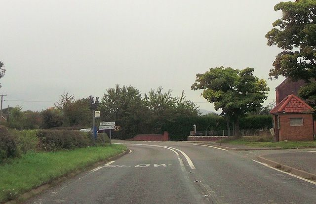 Junction for Cruckmeole from A488