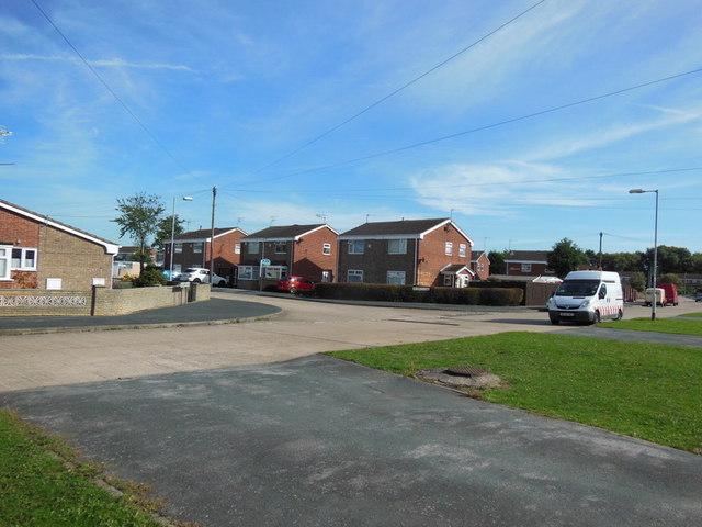 Alloa Close off Downfield Avenue, Hull