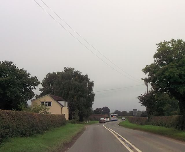 Old Shorthill House on A488