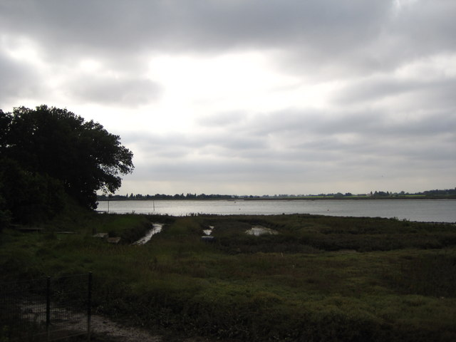 Marsh area on the River Crouch