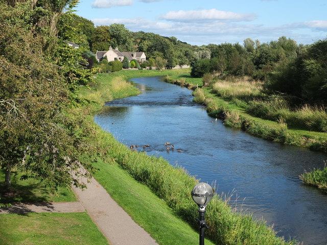 The River Ythan, Ellon