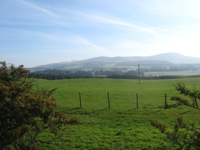 Grazing lands at Chesterhall