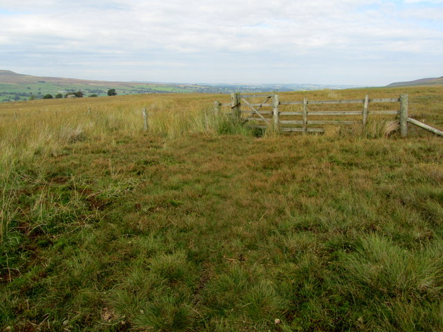 Bridleway on Swineside Moor