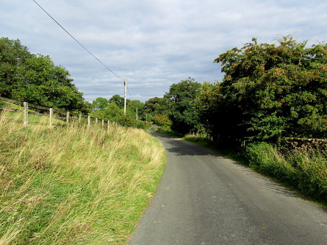 Road between Braidley and Horsehouse
