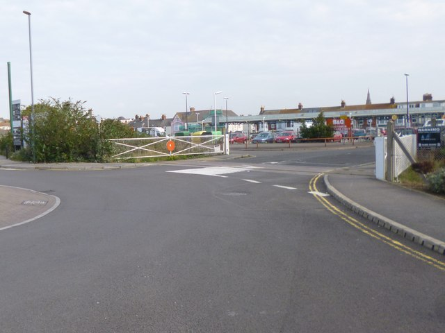 Weymouth, disused level crossing
